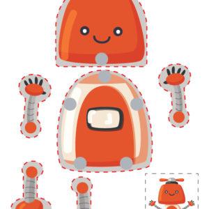 Hareketli Robot Maketi 2