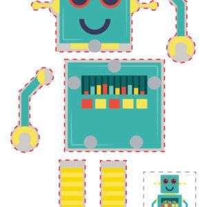 Hareketli Robot Maketi 3