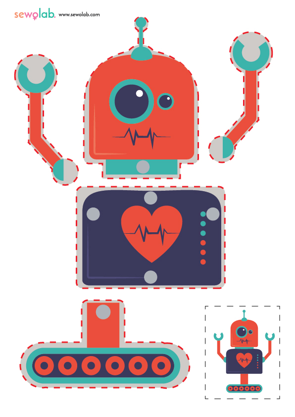 Hareketli Robot Maketi 4