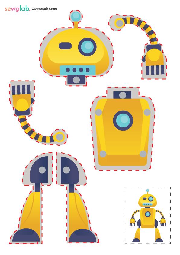 Hareketli Robot Maketi 5
