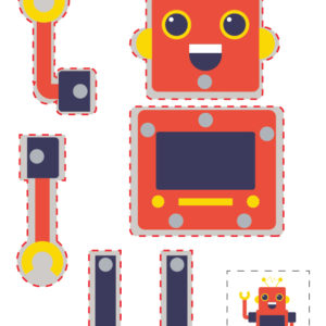Hareketli Robot Maketi 6