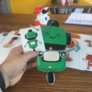Hareketli Robot Maketi Bitmiş Hali